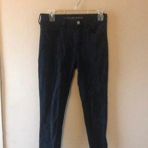black aeo jeans